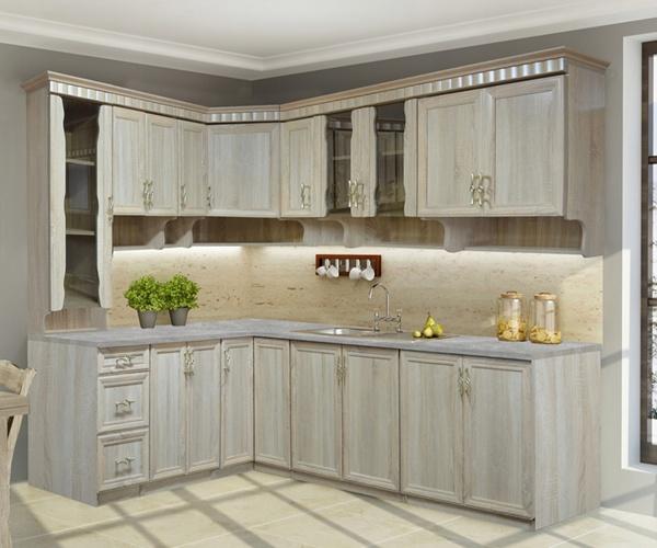 Мебель угловая кухня